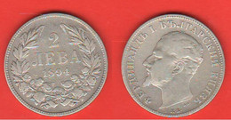 Bulgaria 2 Leva 1894 Bulgarie Ferdinad I° Bulgarien - Bulgaria