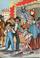 66418 Italia,  Cartolina Nuova  Pinocchio, Teatro Dei Burattini, Geppetto - Cuentos, Fabulas Y Leyendas