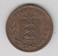 GUERNESEY 8 DOUBLES 1868 - Guernsey
