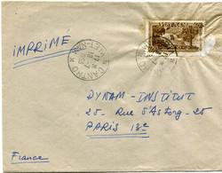 VIET-NAM LETTRE DEPART CANTHO 18-7-1953 VIET-NAM POUR LA FRANCE - Vietnam