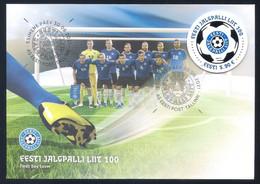 Estonia (2021) Centenary Of Estonian Football Association - FDC - Autres