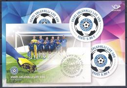 Estonia (2021) Centenary Of Estonian Football Association - Official Bulletin - Autres