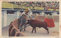 Mexico Juarez - Toros Corrida Bullfight Arena - Mexico