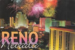 Reno - Fireworks - Reno