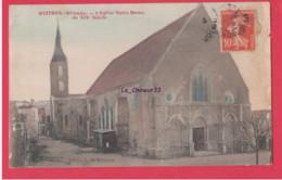 33 - GUITRES---L'Eglise Notre Dame Du XII° Siècle - Other Municipalities