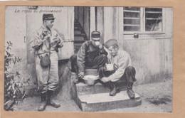 Le Repas Au Cantonnement - Barracks