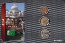 Pakistan Stgl./unzirkuliert Kursmünzen Stgl./unzirkuliert Ab 2001 1 Rupee Bis 5 Rupees - Pakistan