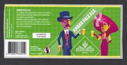 Etiquette De Bière Amber Pale Ale   -  Brasserie Burtonian  à  Castres   (81) - Beer