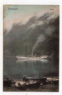 STEAMSHIP - HARDANGER - ODDA: Norway Postcard (S1222) - Norway