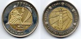 Lettonie -  Medaille Essai -  SUP - Latvia