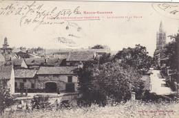 31. GRENADE SUR GARONNE. CPA. RARETE. LE CLOCHER ET LA HALLE. ANNÉE 1916 + TEXTE. CORRES F.M - Other Municipalities