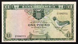 Zambia 1 Pound 1964 Pick#2  LOTTO 3011 - Zambia