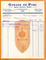 """64.PAU.AGENCE EXCLUSIVE """" BERLIET """" GARAGE DU PARC J.ROUGERIE 70 RUE D'ETIGNY. - Automovilismo"""