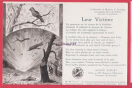 ILLUSTRATEUR -HERMANN--Leur Victime---Sonnets De André Soriac Poilu Au 277° Regiment D'Infanterie - Patriotic