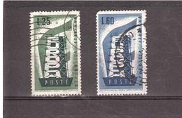 1956 EUROPA - 1946-60: Gebraucht