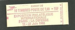 Carnet Liberté De Gandon Philexfrance Yvert 2187c2 Daté 16/3/82 - Definitives