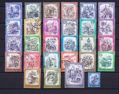 Österreich, Austria: 1975-83 Schönes Österreich Komplett Gestempelt, Used - Sammlungen