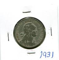 Portugal 1 Esc. (Alpaca) 1931 BC+ - Other - Europe