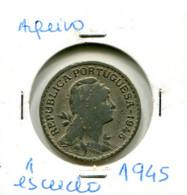 Portugal 1 Esc. (Alpaca) 1945/51/58/59/61/62/64/66/68 - 9 Moedas Em Geral MBC - Other - Europe
