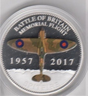 Guernsey 2017 Battle Of Britain (memorial Flight) 50p Coin UNC - Guernsey