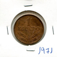 Portugal 1 Esc. (Bronze) 1971/73/74/75/77/79 - 6 Moedas MBC - Other - Europe