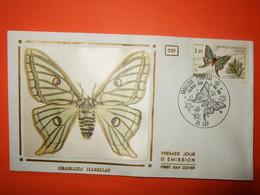 FRANCE 1er JOUR 1980-N°2089 Papillon Sur Enveloppe. Superbe - Mariposas