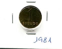 Portugal 1 Esc. (Latão-Níquel) 1981/82/83/84/85/86/87/88/89/90/91/2000/2001 - 13 Moedas Em Geral MBC - Other - Europe