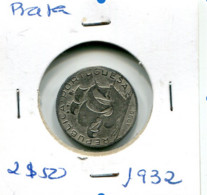 Portugal 2,5 Esc. (Prata) 1932 - BC+ - Other - Europe