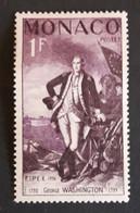 Stamp Monaco, G. Washington, Year 1959, MNH Quality, Michel-nr. 527 - Unused Stamps