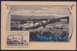 Hrpelje Kozina, General View, Shop Šiškovič, Pola - Divača Railway TPO, Mailed 1922 - Eslovenia