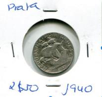 Portugal 2,5 Esc. (Prata) 1940 - BC+ - Other - Europe