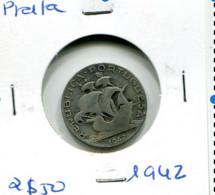 Portugal 2,5 Esc. (Prata) 1942 - BC+ - Other - Europe