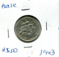 Portugal 2,5 Esc. (Prata) 1943 - BC+ - Other - Europe