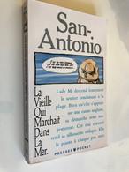 PRESSES POCKET N° 3357    SAN ANTONIO    La Vieille Qui Marchait Dans La Mer 1992 Be+ - Unclassified
