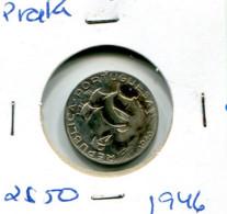 Portugal 2,5 Esc. (Prata) 1946 - BC+ - Other - Europe