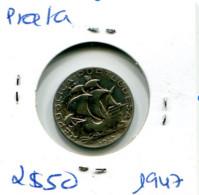 Portugal 2,5 Esc. (Prata) 1947 - BC+ - Other - Europe