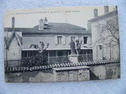 Cpa LA CHAPELLE DE GUINCHAY Asile Ferret   71 Saône Et Loire - Other Municipalities