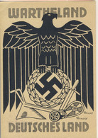 2* World War - Nazismo - Posen 28/9/1941 New And Uncommon Propaganda Illustrated Postcard. (2 Images) - Guerre 1939-45
