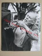 Josef Sudek: PORTRET OF AN ARTIST - Master Of Czech Photography ( Photo 25,4 X 20,5 Cm ) - Photographie