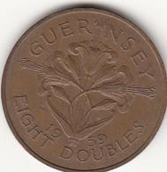 Guernsey Coin 8 Double 1959 - Guernsey