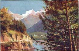 """74. Illustrateur.  """"Oilette"""".  Mont Blanc. Les Houches. - Chamonix-Mont-Blanc"""