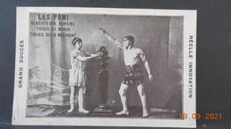 CPA - Les Pomi - Gladiateurs Romains - Unique Au Monde - Travail De La Machoire - Circus