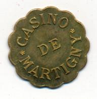 JETON De CASINO // MARTIGNY-LES-BAINS (88) // Vingt Centimes - Casino