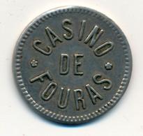 JETON De CASINO // FOURAS (17) // Jeton De Un - Casino