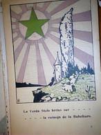 ESPERANTO  ILLUSTRATA LA VERDA STELO BRILAS SUR   RUINOJN DE BABELTURU  S190? IF9786 - Esperanto