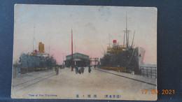 CPA - Yokohama - View Of Pier - Yokohama