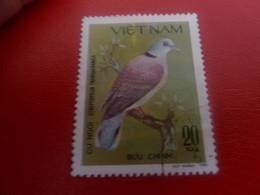 Viet-Nam - Buu Chinh - Cu Ngoi Streptopelia Tranquebarica - Val 20 Xu - Multicolore - Oblitéré - - Vietnam