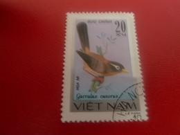 Viet-Nam - Buu Chinh - Garrulax Canorus- Val 20 Xu - Multicolore - Oblitéré - - Vietnam