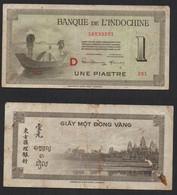 INDOCHINE FRANÇAISE Billet 1 Piastre 1951 - Other