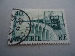ALGERIA  USED STAMPS  TRAINS  TRAIN - Argelia (1962-...)